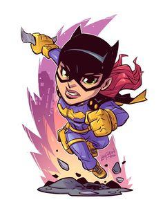 Batgirl Chibi by DerekLaufman on @DeviantArt
