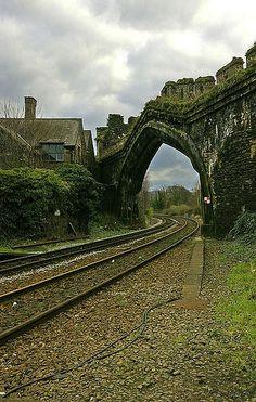 Ancient Rail Portal, Wales