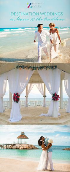 Plan your dream destination wedding in paradise with the one you love. | Hyatt All Inclusive Resorts