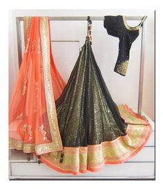 Beautiful black lehenga