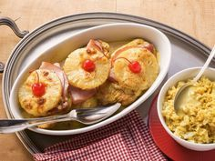 Hawaii-Schnitzel von der Pute mit Curryreis - smarter - Zeit: 30 Min. | eatsmarter.de