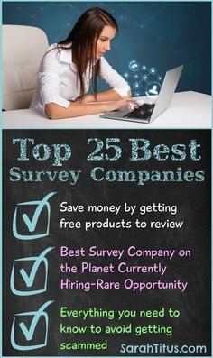 Top 25 Best Survey Companies - Best companies that save you and make you the most amount of money