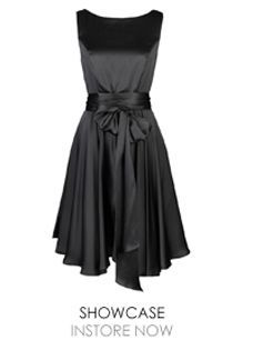 There is something very Audrey Hepburn about this lovely frock.