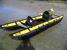 Clear Blue Hawaii Haiku kayak pontoon