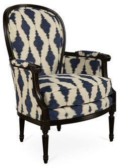 Midnight - upholstery for rocking chair redo