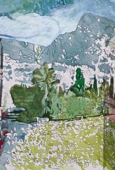 #Tanja Maria Ernst -#painting #contemporary art #island
