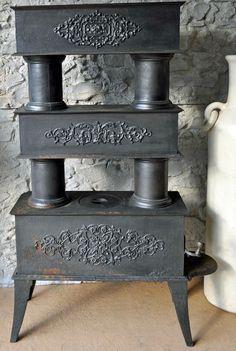 Eisenofen Ofen Antik TOP Angebot Metall Deko zerlegbar