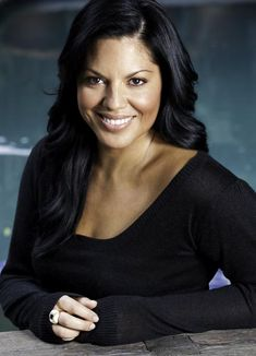 Sara Ramirez, she's gotta be the best looking woman in Hollywood who isn't a stick