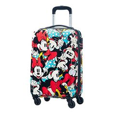 Disney by American Tourister Legends Spinner Alfatwist Koffer, 32 Liter, Mickey Pop Best Luggage, Travel Luggage, Disney Luggage, Cabin Suitcase, Cute Suitcases, College Bags, Disney Home, Disney Land, Barbie Life