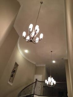 Progress Lighting Brushed Nickel Chandeliers (3) - Like New - The Woodlands Texas Home Accessories For Sale - Lighting Classifieds on Woodlands Online