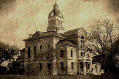 County Courthouse of Bandera, Texas