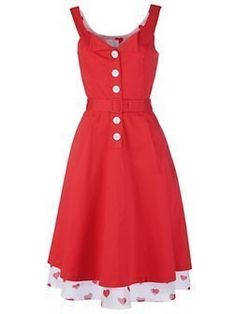 JASMINE GUINNESS QUEEN OF HEARTS 50's DRESS