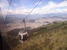 The Teleferico is the brand new tourist attraction of Quito. The Teleferico is built over an area of 160 hectares in the skirts of the Pichincha and the summit of Cruz Loma. Quito, Ecuador, Attraction