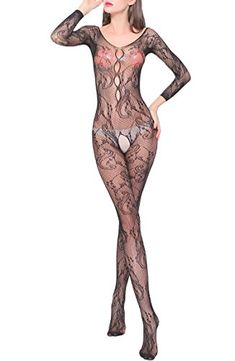 597c88fa8 New sexy Bodystockings long sleeved ofbeautiful dragon jacquard fishnet  stockings black *** Check out the image by visiting the link. Fashion Women