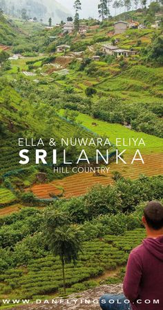 Sri Lanka Hill country is beautiful. Whether you explore Ella, Kandy, Nuwara Eliya or take the famous Kandy to Ella Train