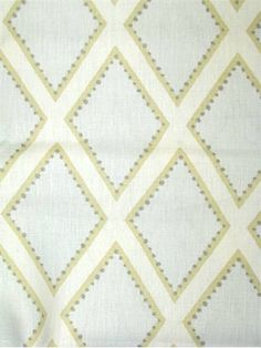 "Brookhaven Opal Item #: 	0166986 Price: 	$34.95 per yard Sarah Richardson Design Fabric by Kravet. 100% linen geometric print. Perfect for upholstery, pillow covers, top of the bed or drapery panels. V 9"" - H 5.5"" repeat, 15,000 double rubs. 54"" wide. Made in U.S.A."