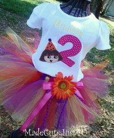Items similar to Dora Birthday Number Shirt and Tutu Set on Etsy Little Girl Birthday, Baby Girl Birthday, 2nd Birthday Parties, Birthday Ideas, Birthday Numbers, Dora The Explorer, Birthday Decorations, First Birthdays, Tutu