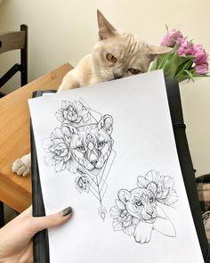Big Cat Tattoo - Tattoo Minimalistas Elefante - - Hunting Tattoo For Guys Love Tattoos, Body Art Tattoos, Girl Tattoos, Small Tattoos, Ankle Tattoos, Big Cat Tattoo, Back Tattoo, Tattoo Sketches, Tattoo Drawings
