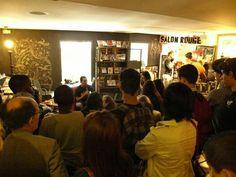 14° Festival de Cinema Brasileiro em Paris. Representando a Rocinha em uma exposição de micro videos de 1min.