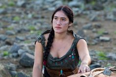 Q'Orianka Kilcher, Hollywood actress, defends the Rights of Indigenous Peoples!