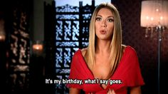 When it was her birthday and everybody knew it. | 28 Times Stassi Schroeder Was The Baddest Bitch Of Reality TV