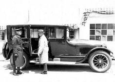Erich Von Stroheim and his Cadillac