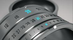 Futuristic Ring Clock - Technology Blog
