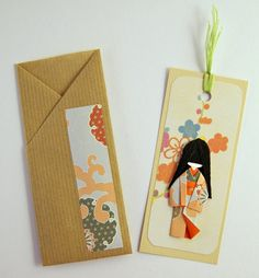 Little Japanese Doll Bookmark