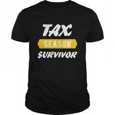 Awesome Tee Accountant  Tax Season Survivor Shirts & Tees