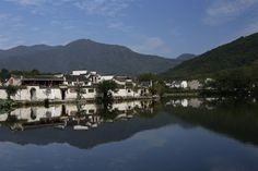 Scenes from the ancient village of Honcun, in the Anhui region of China // UNESCO World Heritage site