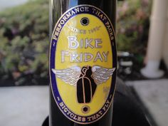 Bike Friday: They are the best! Great customer service and outstanding bicycles. Now I've got to RIDE!