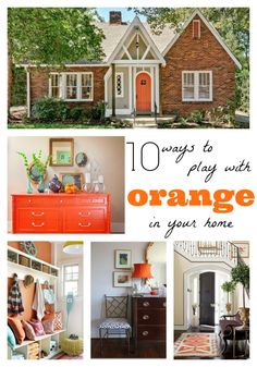 The Chic Site: 10 Ways to Squeeze in Orange