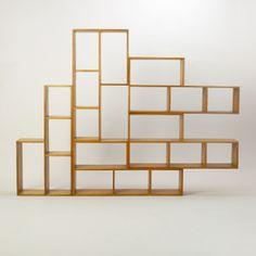 Gerald Summers, book shelf, 1934. Makers of Simple Furniture, London.