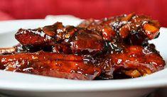 Nuselská kuchta uvádí ...: VEPŘOVÁ ŽEBRA... BŮH VĚDĚL, CO DĚLÁ Chicken Wings, Pork, Grilling, Beef, Food And Drink, Lunch, Cooking, Health, Fit