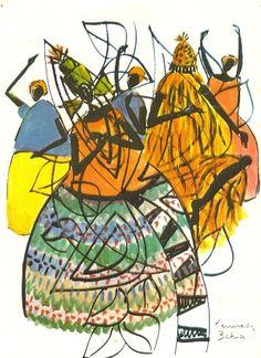 Brazilian Orixas by Kennedy (Brazilian artist) by lena