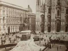 vecchia milano  - Piazza Del Duomo-