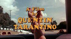 You had me at quentin tarantino!