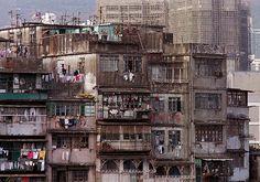 Kowloon walled city, Hong Kong.
