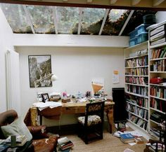 Eamon McCabe photographs writer's rooms and artists