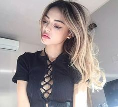 Find images and videos about girl, beautiful and beauty on We Heart It - the app to get lost in what you love. Lily Maymac, Braids For Short Hair, Cool Girl Pictures, Belleza Natural, Photo Instagram, Pretty Face, Asian Beauty, Hair Color, Hair Beauty
