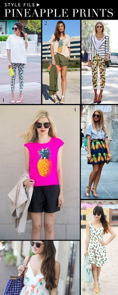 Style File: Pineapple Prints