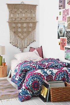 Magical Thinking Wood Block Medallion Twin XL Bed-In-A-Bag Snooze Set - Urban Outfitters