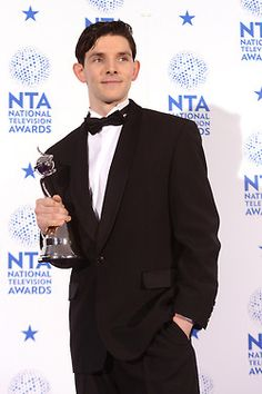 Colin Morgan - Best Male Actor in Drama Performance 2013 NTAs Catherine Tate, Colin Bradley, Bradley James, Vernon, Drama, Doctor Who, Merlin And Arthur, King Arthur, Merlin Colin Morgan