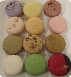 Macarons from  Chantal Guillon Macarons in San Francisco