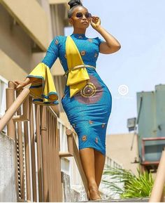 The complete pictures of latest ankara short gown styles of 2018 you've been searching for. These short ankara gown styles of 2018 are beautiful Latest African Fashion Dresses, African Print Dresses, African Dresses For Women, African Print Fashion, African Attire, Ankara Fashion, Africa Fashion, African Women, African Prints