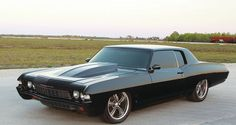 Blacked Out 68 Chevy Impala