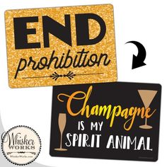 Celebrate in the glamorous style with these dapper signs that you and your party guests will love! Prohibition Party, Diy Photo Booth, Party Guests, Party Photos, Spirit Animal, Party Planning, Backdrops, How To Plan, Signs