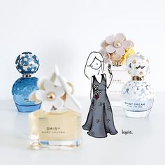 Virgola by Virginia Di Giorgio A secret garden. Thanks a lot @marcjacobsfragrances  #marcjacobsdaisy #MarcJacobs #MarcJacobsFragrances  #virginiasdraws