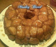 Monkey bread , easy way with canned biscuits recipe dessert