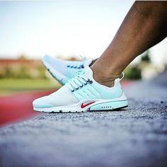 Nike Air presto 6 White Beige Blue